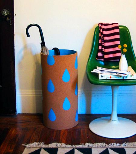 DIY porta-guarda-chuva