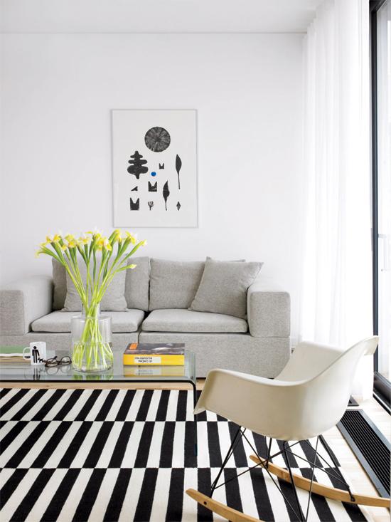 Tapete preto e branco decoreba design - Alfombra blanca ikea ...