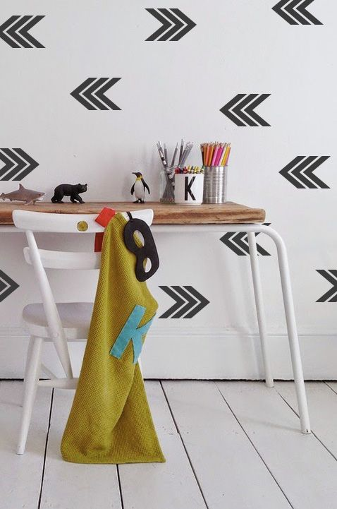 DIY parede branca decoreba design