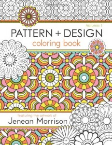 Pattern and Design Coloring Book- 1