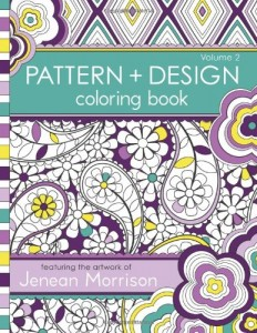 Pattern and Design Coloring Book- 2