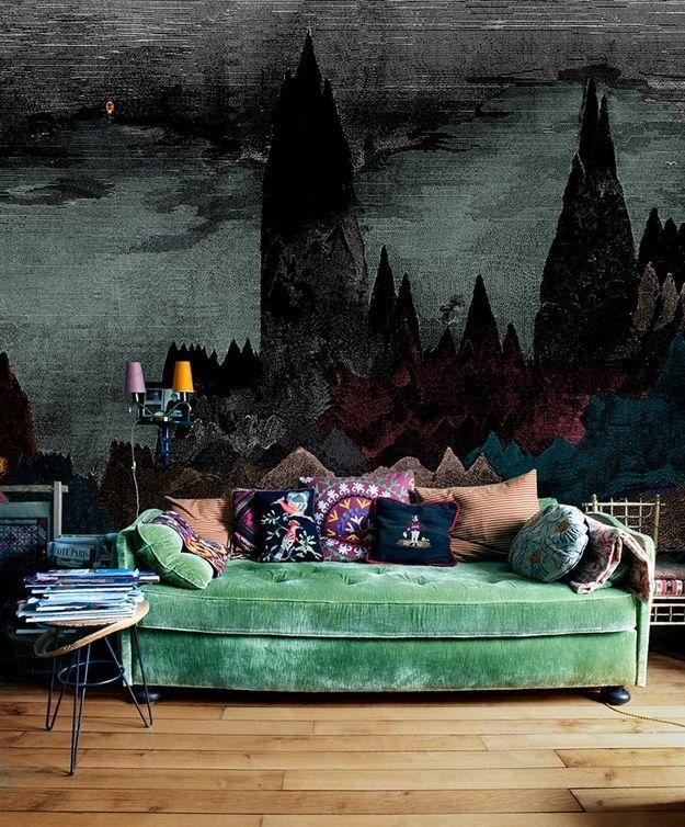 sofa verde decoreba design