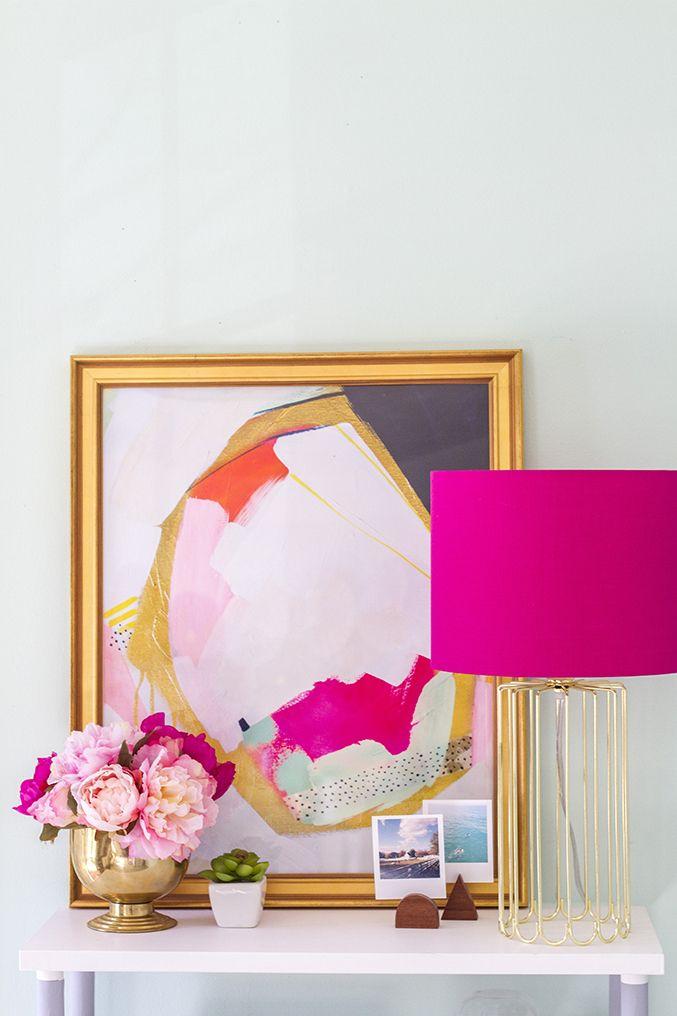 abajur detalhes rosa dcoreba design 2