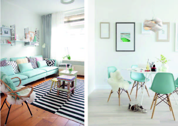 serenity light blue home color of the year duo