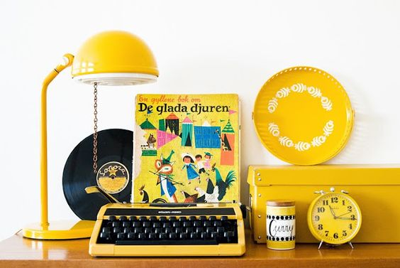 Decoreba design tom sobre tom amarelo