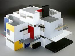 Gerrit Rietveld planta maquete 2