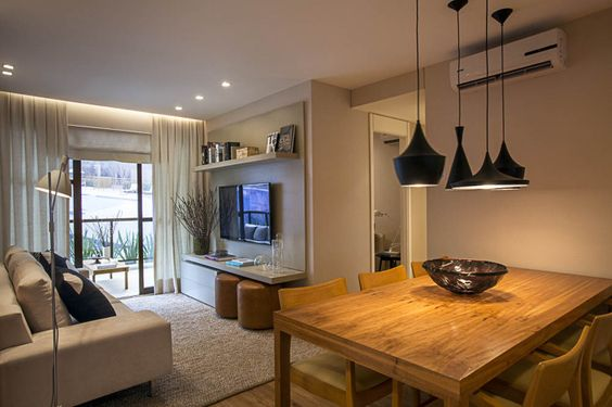 Apartamentos pequenos decoreba design 4